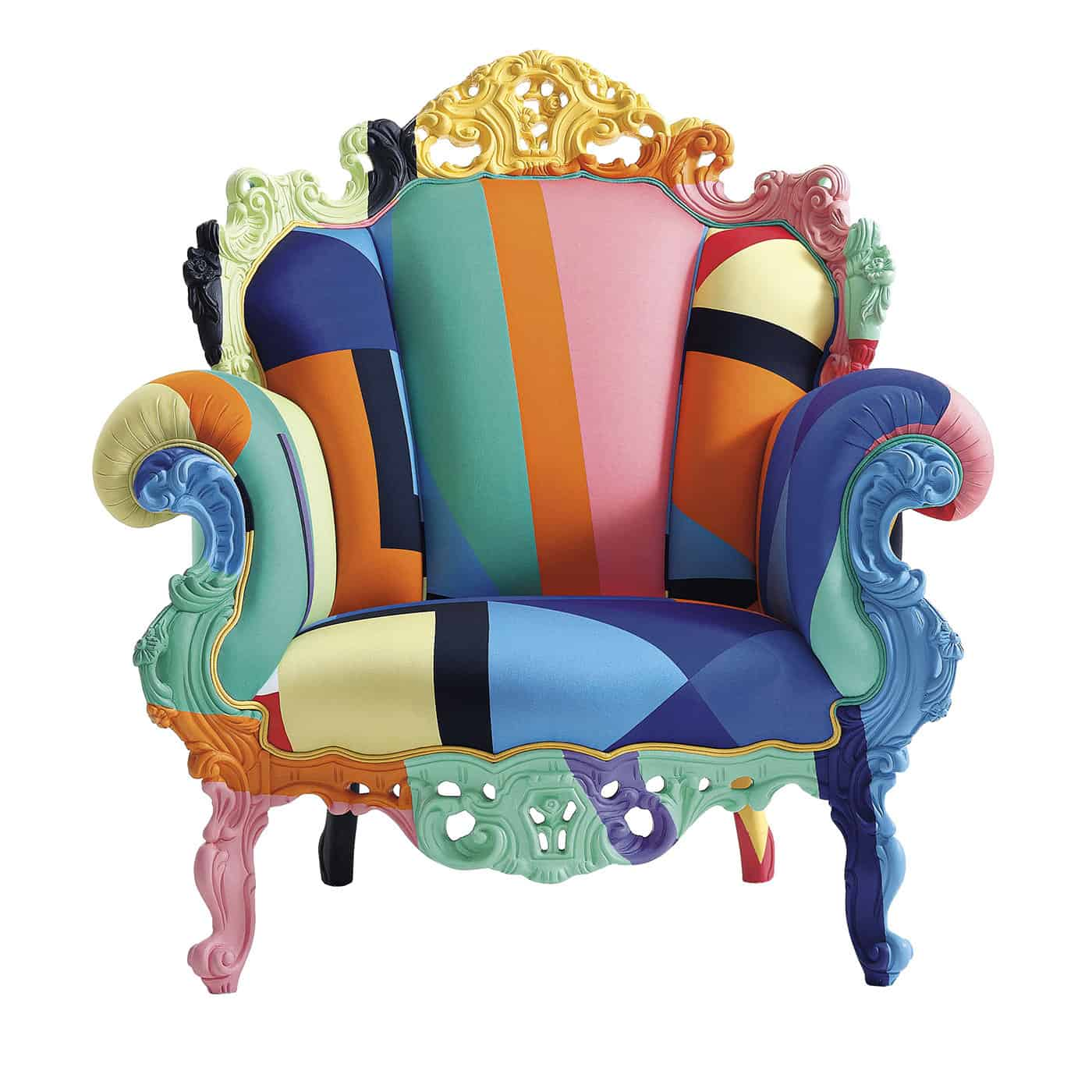 Proust Armchair by Alessandro Mendini