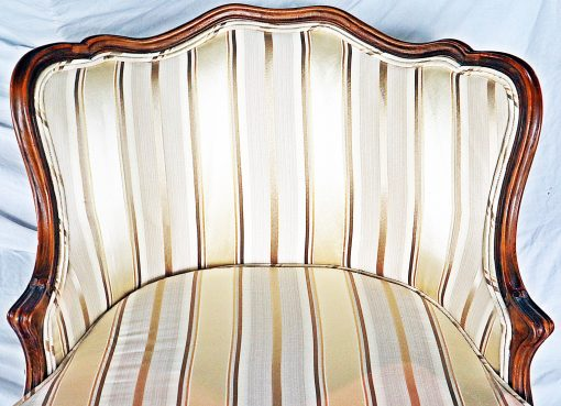 Chaise longue- detail view of the backrest- styylish