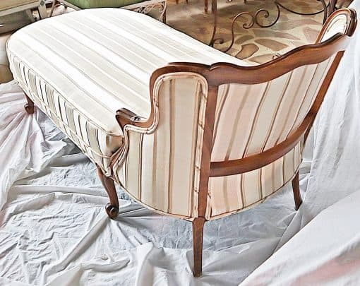 Chaise longue- view from the back- styylish