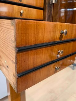 Biedermeier Sewing Stand- detail of the drawers- styylish