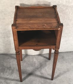 Two provincial nightstands- one of the two view from above- styylish