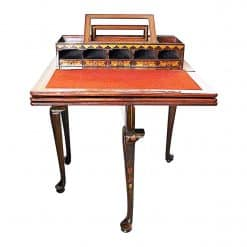 Dutch Game Table- unfolded with desk top- styylish