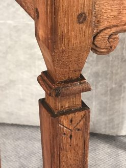 Two provincial nightstands- one of the two- detail of a foot- styylish