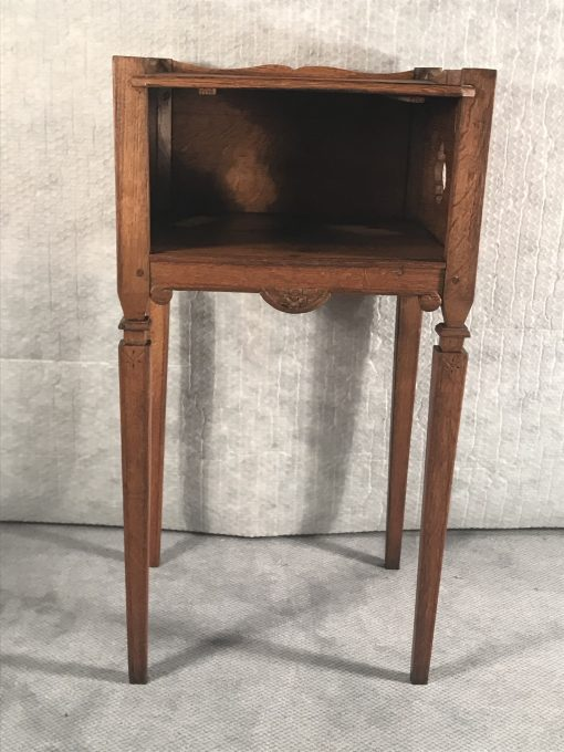 Two provincial nightstands- one of the two- styylish