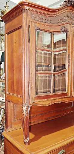 French Country Buffet- top with one of the two glass doors- styylish