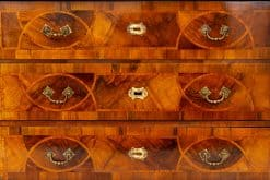 Neoclassical Furniture- detail of drawers of a chest- styylish