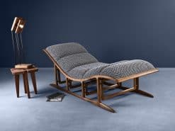 Bridge Lounge Chair- View from the left front corner- Styylish